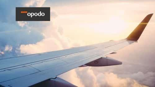 15€ de remise sur les vols réservés sur Opodo