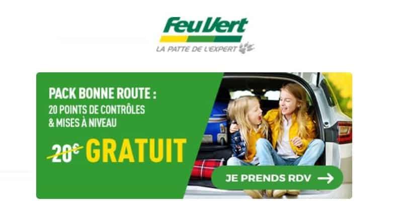 20 points de contrôles de votre véhicule vérifiés gratuitement dans les centres auto Feu Vert