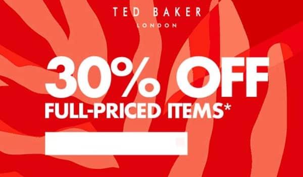 30% De Remise Sur Tout Ted Baker