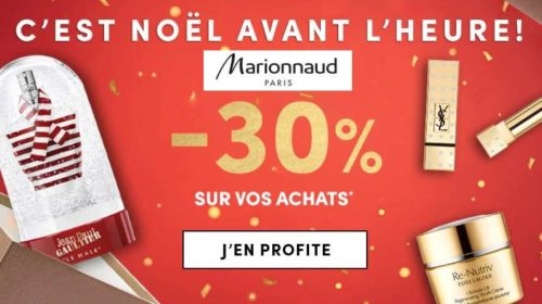 30% De Remises Sur Marionnaud