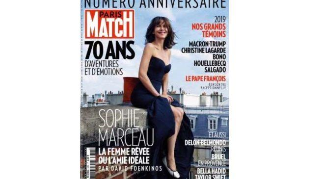Abonnement Paris Match pas cher : moins de 63€ pour 1 an (52N°) au lieu de 145€