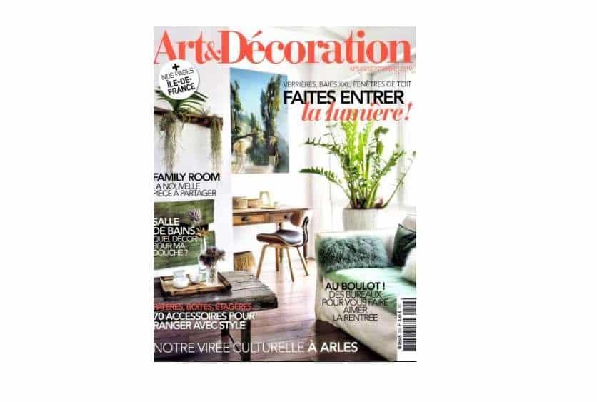Abonnement au magazine Art et Décoration pas cher