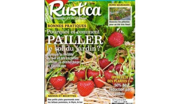 Abonnement magazine Rustica pas cher