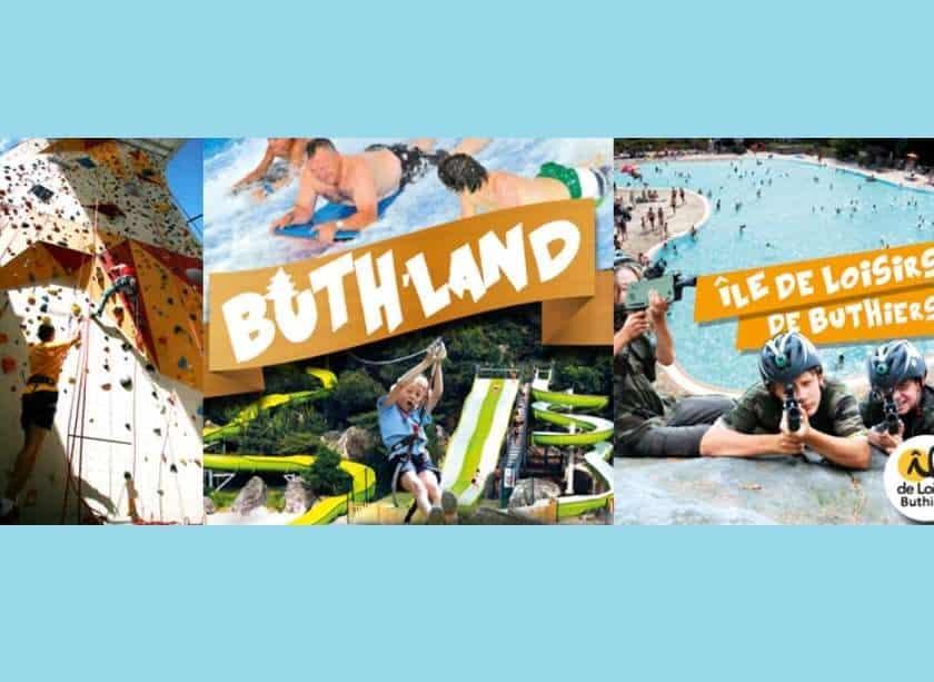Billet Buth-Land Ile de loisirs de Buthiers pas cher
