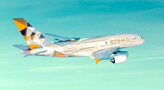 Billet avion Etihad Airways moins cher