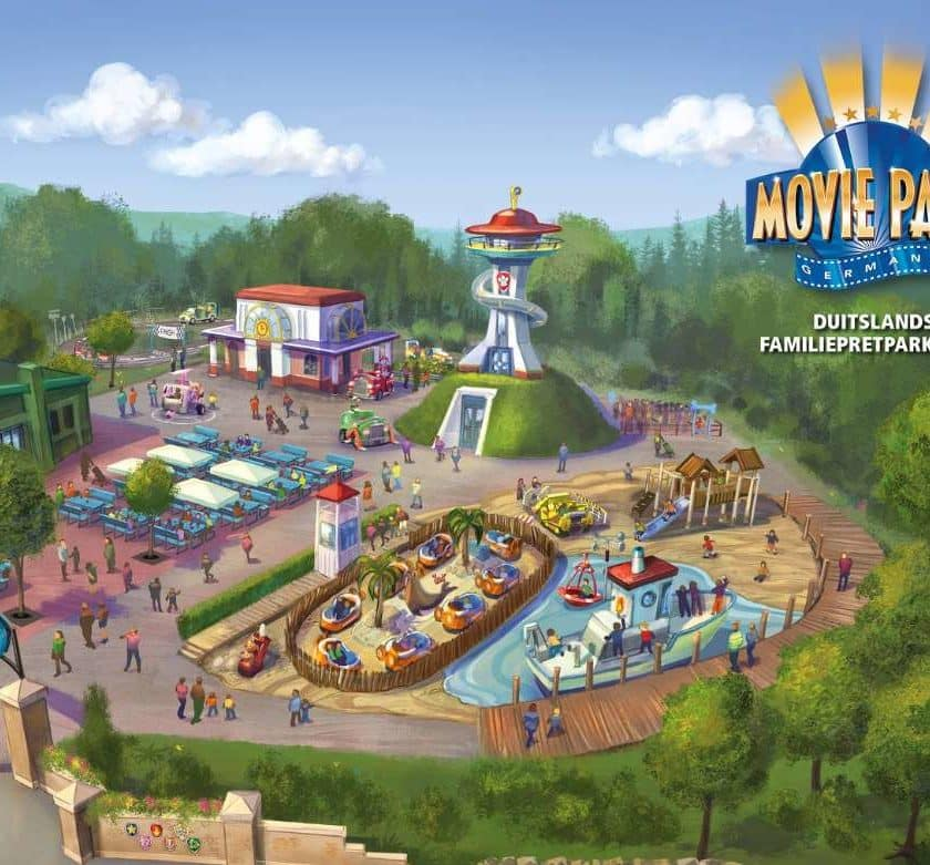 Billet parc Movie Park Germany pas cher