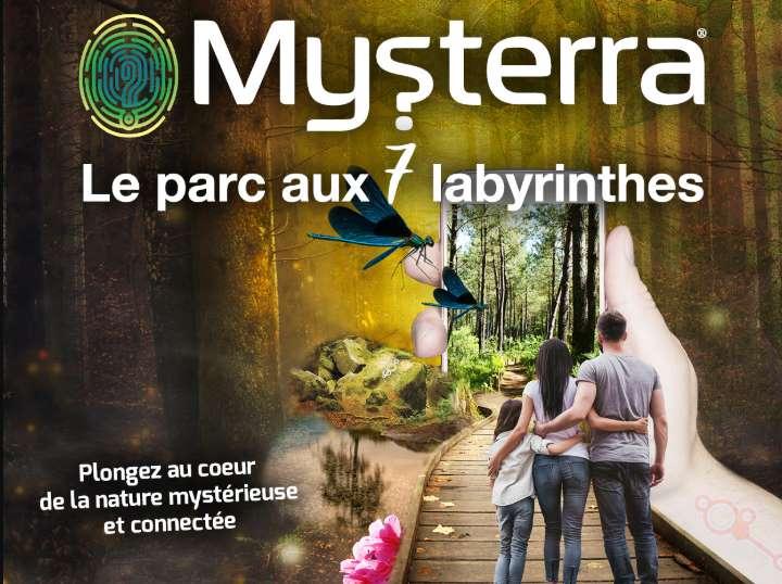 Billet parc des labyrinthes Mysterra pas cher