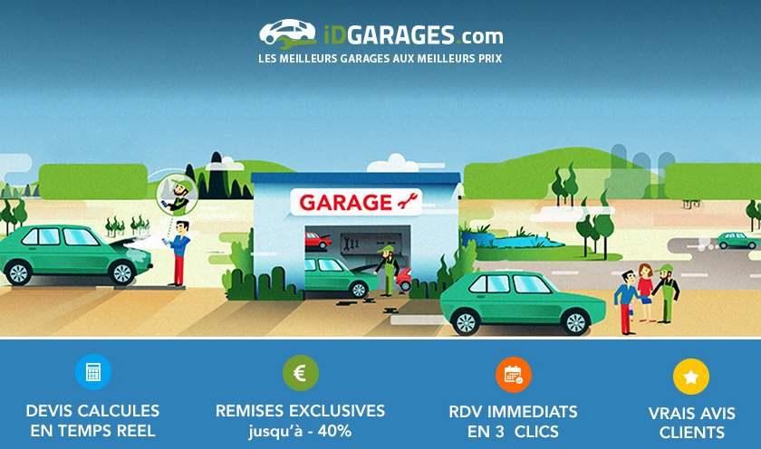 Bon d'achat valable dans 3000 garages de prestation via iDGARAGES