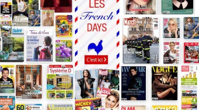 Bon plan French Days abonnements magazines