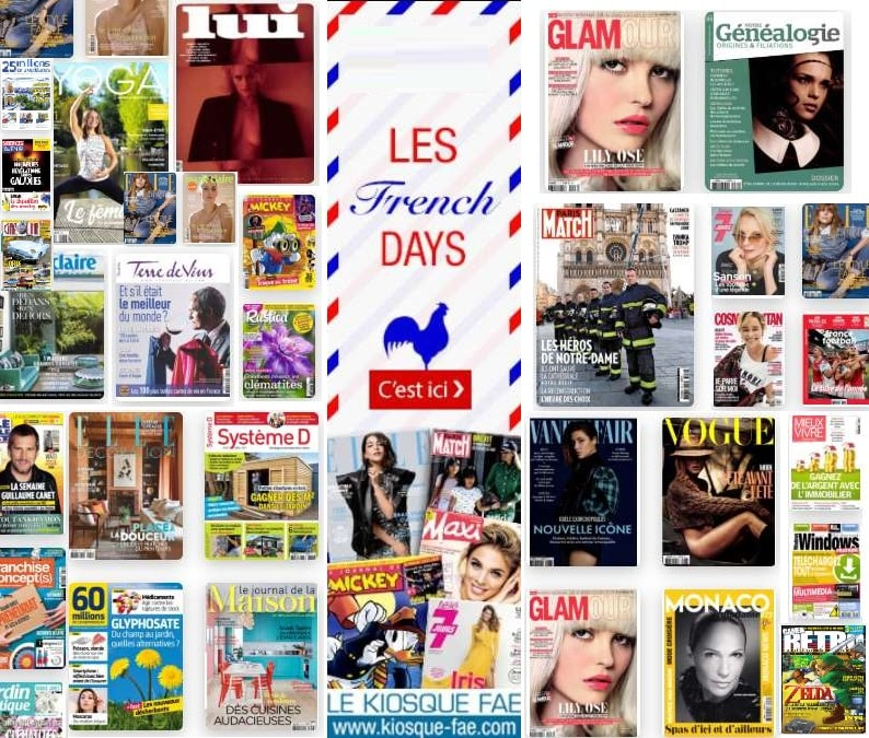 Bon plan French Days abonnements magazines
