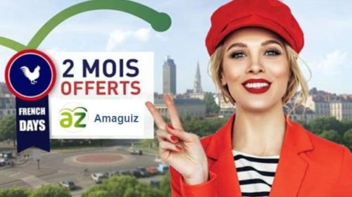 FRENCH DAYS AMAGUIZ 2 mois offerts