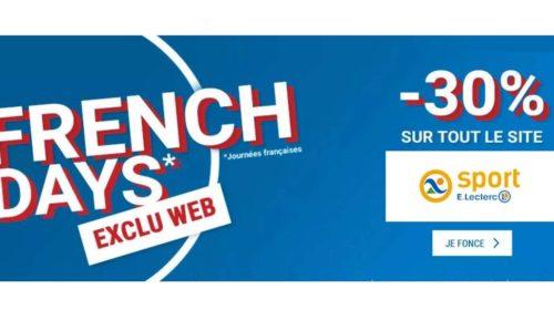 French Days Sport Leclerc
