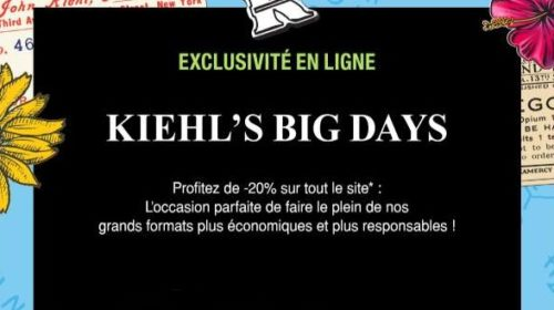 Kiehl's Big Days