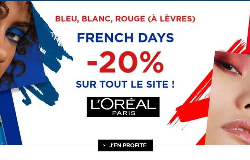 Les French Days L'Oréal
