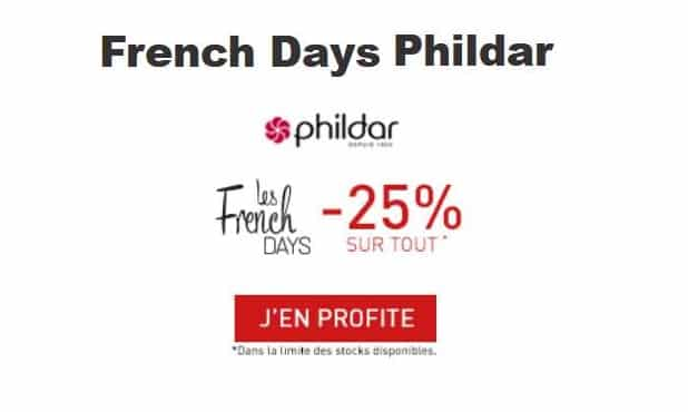 Offre French Days Phildar