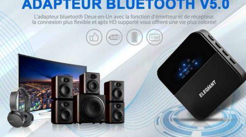 boitier émetteur et récepteur Bluetooth 5.0 ELEGIANT