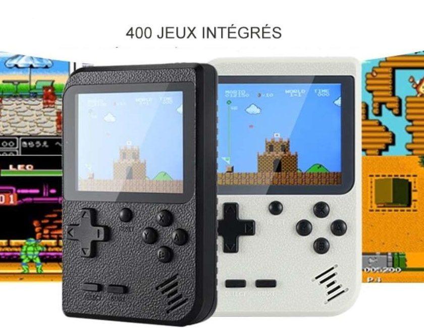 console portable retro Gocomma avec 400 jeux vidéo intégrés