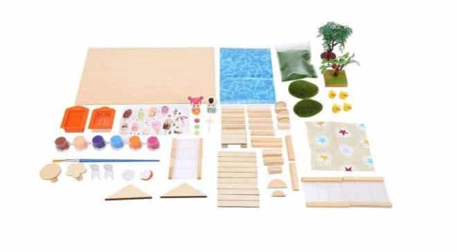 kit maquette de maison miniature