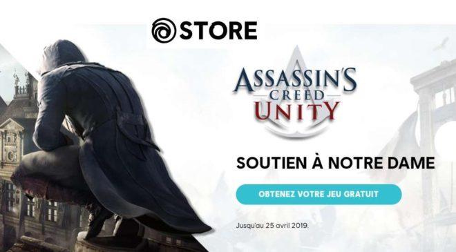 le jeu Assassin's Creed Unity PC de Ubisoft en téléchargement gratuit