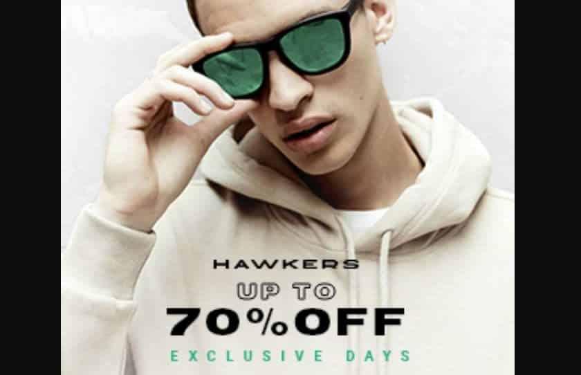 lunettes de soleil Hawkers à prix ultra réduits