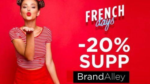 remise supplémentaire sur Brandalley pour les French Days