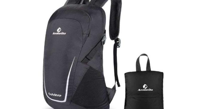 sac à dos pliable 15l Lixada (7 coloris aux choix)