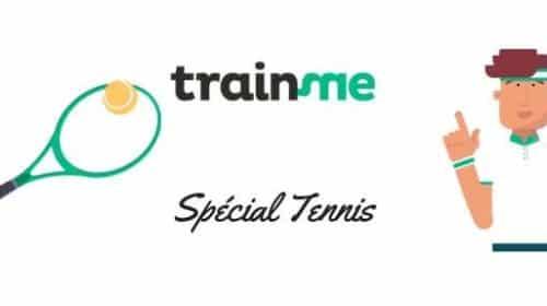 10€ de remise sur les cours de tennis via TrainMe