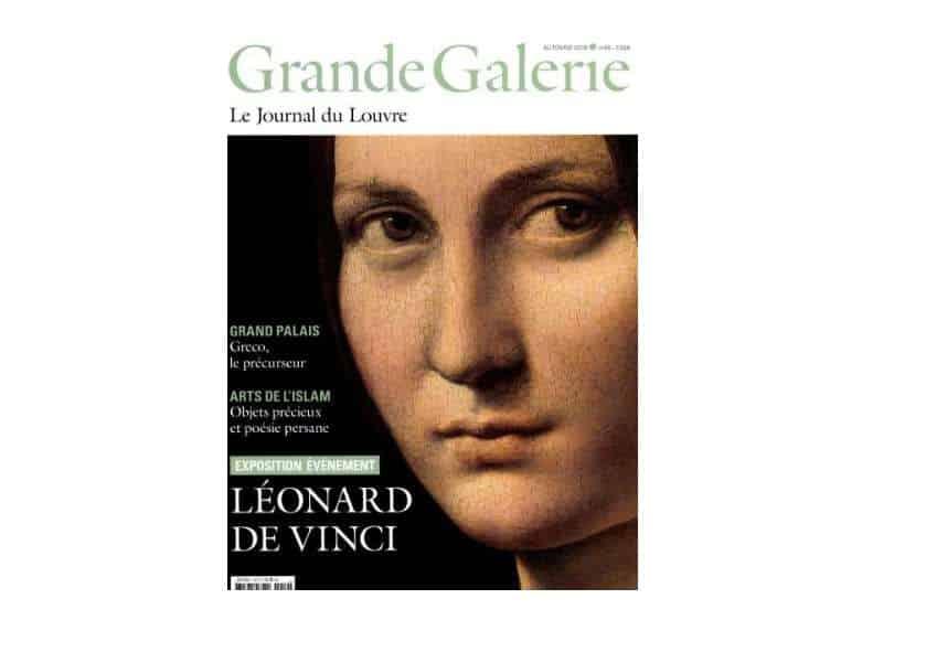 Abonnement le Journal du Louvre Grande Galerie pas cher