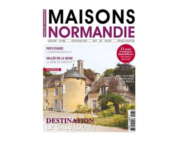 abonnement magazine maisons normandie pas cher 14 9 seulement l ann e au lieu de 32 9. Black Bedroom Furniture Sets. Home Design Ideas