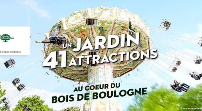 Billet parc attraction Jardin d'Acclimatation pas cher