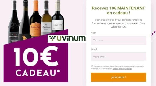 Bon achat Uvinum 10€ offerts sur l'achat