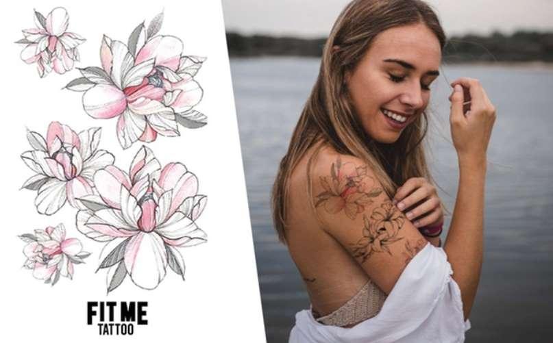 Bon d'achat Fit Me Tattoo moitié prix