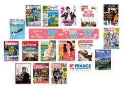 Bon plan cadeau fête de mères ❤️ abonnement magazine pas cher grâce à 22€ de remise sur des dizaines de titres