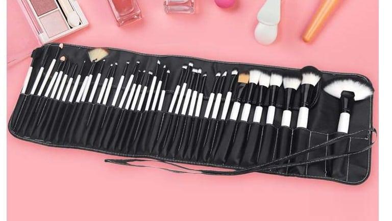 Ensemble de 36 brosses et pinceaux de maquillage Abody