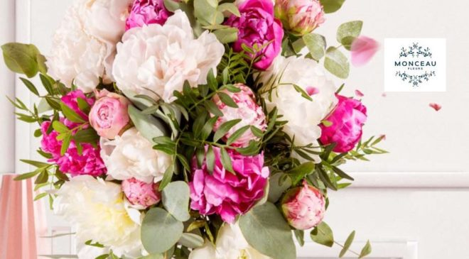 Fête des mères remise sur Monceau Fleurs (livraison de fleurs)