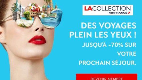 La Collection d'Air France les ventes privées signées Air France