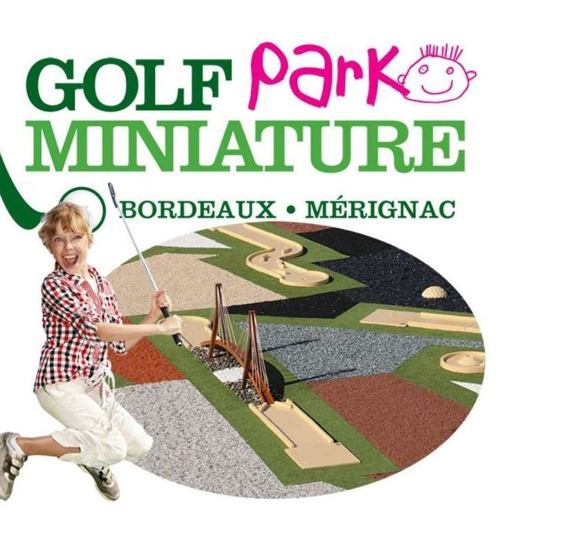Mini-Golf au Golf Miniature Parc Mérignac moitié prix