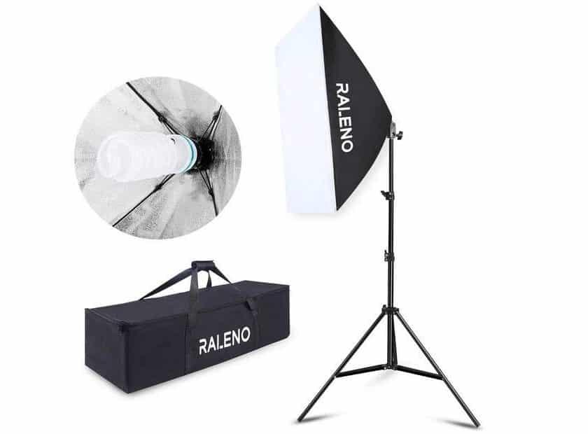 Promotion kit éclairage studio RALENO