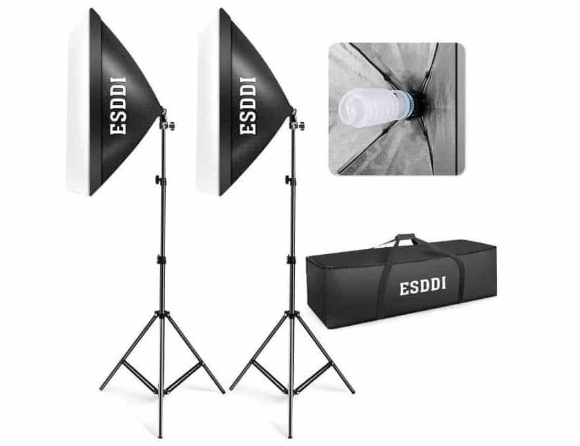 Promotion kit éclairage studio x2 ESDDI