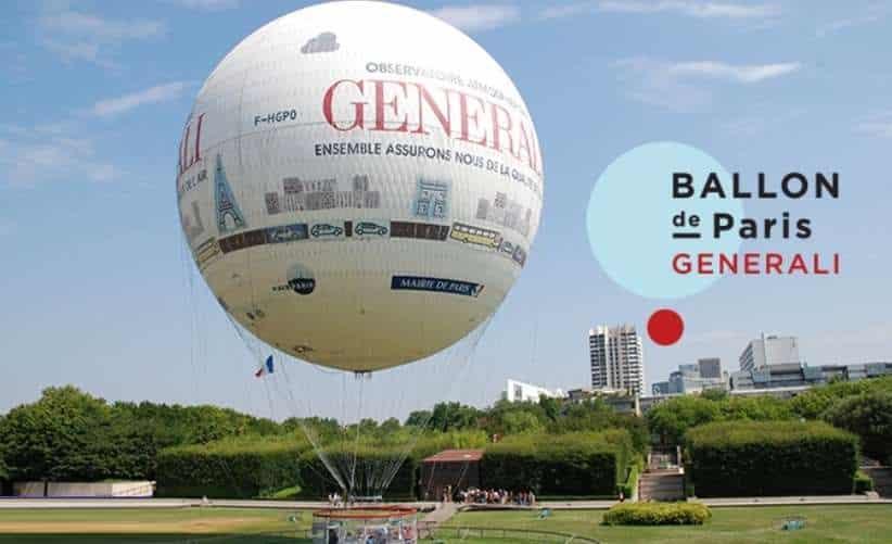 Survolez Paris dans le ballon Generali à tarif réduit