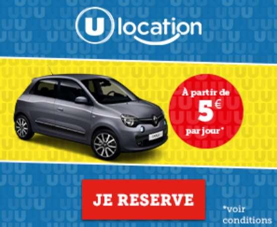 U location location de véhicules et de matériels festifs par Système U