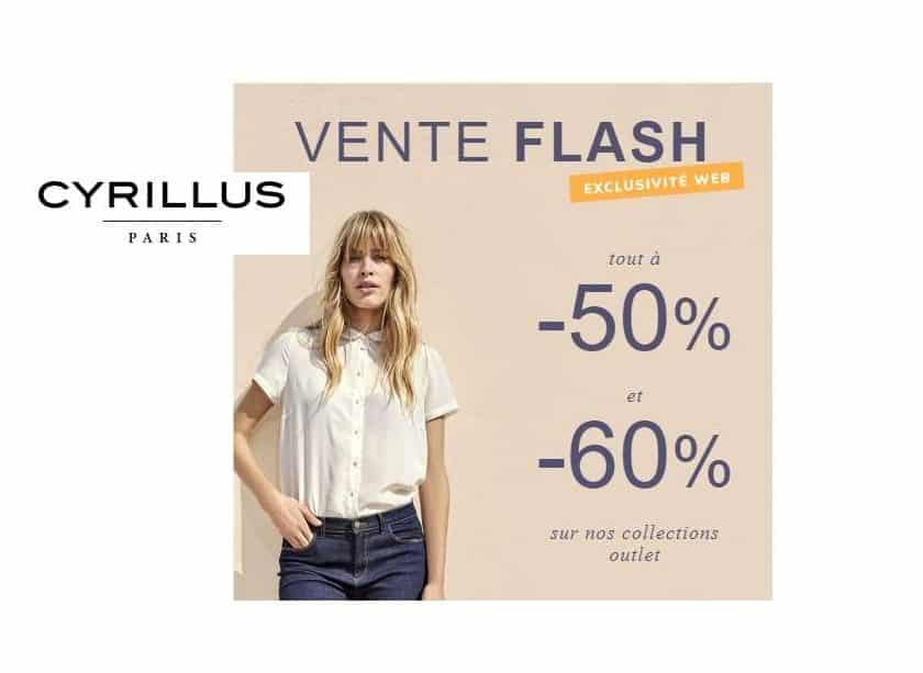 Vente flash Outlet Cyrillus