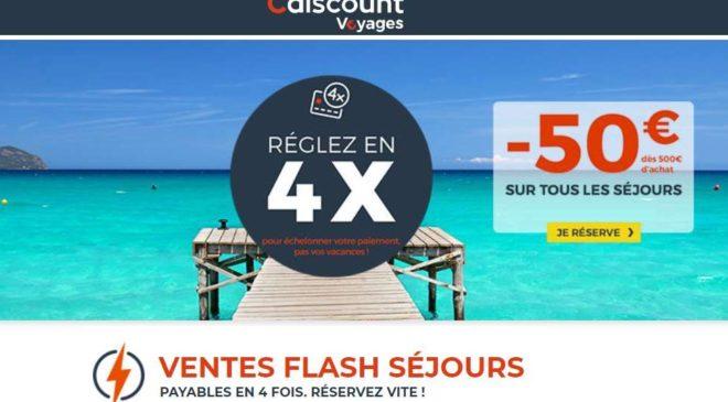 Ventes flash Séjours Cdiscount