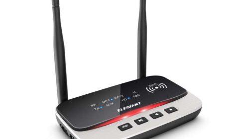 adaptateur Bluetooth 5.0 Elegiant longue portée et NFC
