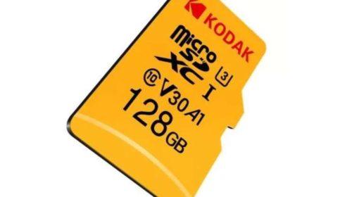 carte micro SD 128Go Kodak U3