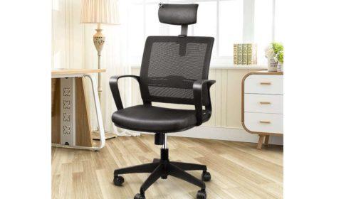 chaise bureau pivotante ergonomique Intey