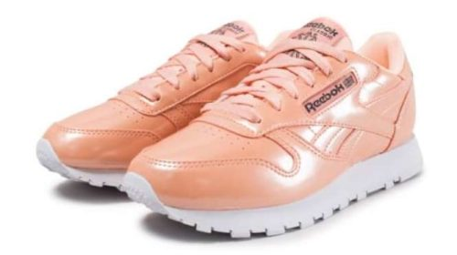 chaussures Classic Leather PP orange REEBOK femme