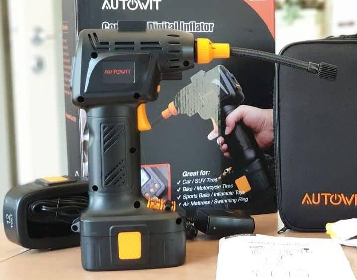 compresseur portable Autowit sur Batterie
