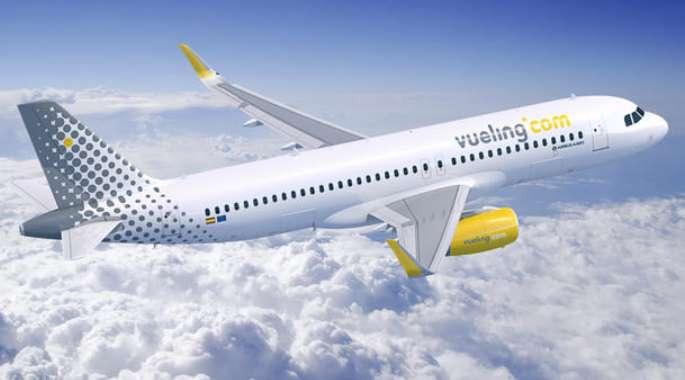 places sur la compagnie aérienne Vueling à partir de 15 €