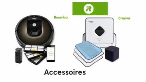 remise sur l'ensemble des accessoires iRobot
